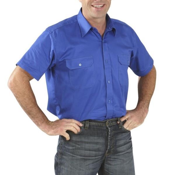 Kurzarm Arbeitshemd Köperhemd