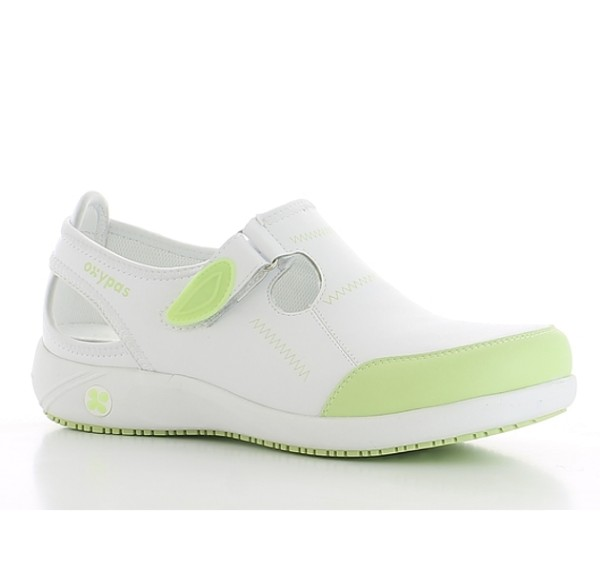 Oxypas Lilia Clogs Pflege Schuhe grün