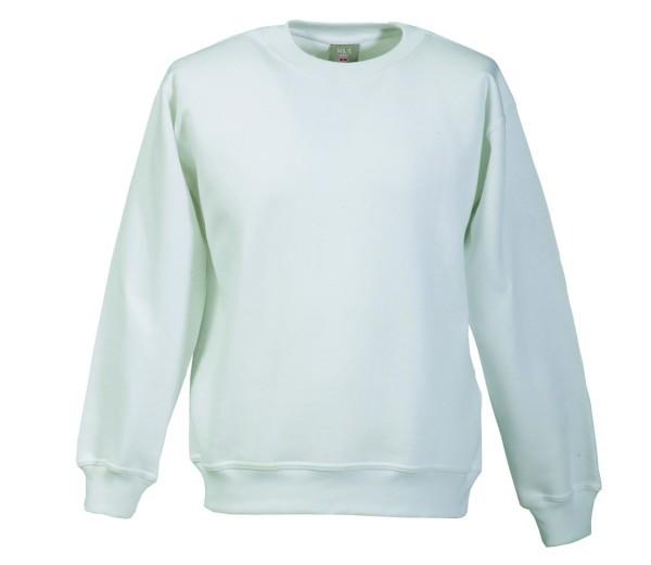 weißer Pullover Arbeitskleidung 60 grad waschbar kochfest