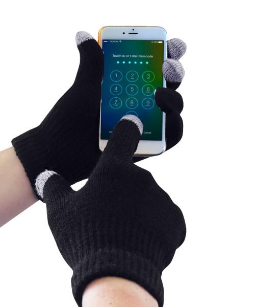 Touchscreen-fähige Handschuhe, Strickhandschuhe mit Touchfunktion