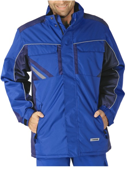 blaue Winter Arbeitsjacke Highline