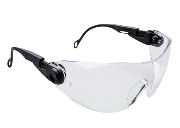 verstellbare Schutzbrille PW31 Bügel