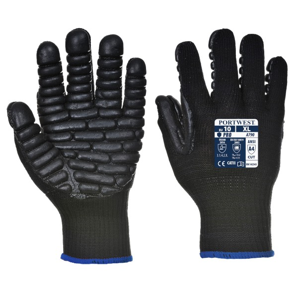 Anti-Vibrations-Handschuh Größe M-L-XL-XXL