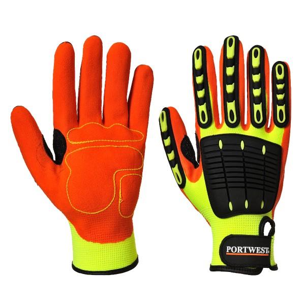Stoßschutz-Handschuhe Größe S-3XL