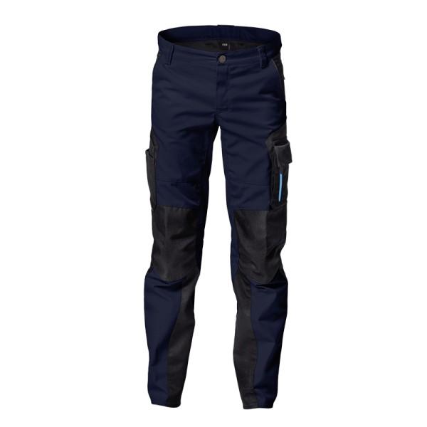 Kinder Arbeitskleidung Jungen Arbeitshose blau FHB