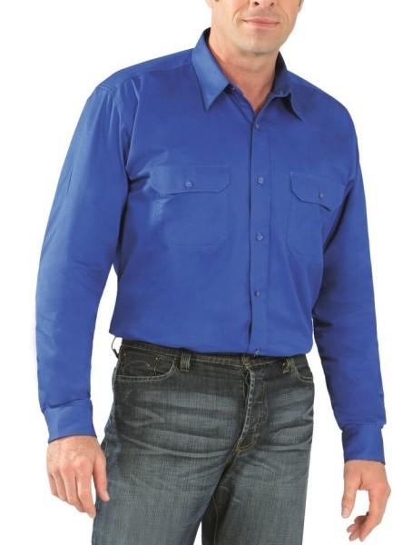 Langarm Arbeitshemd Köperhemd