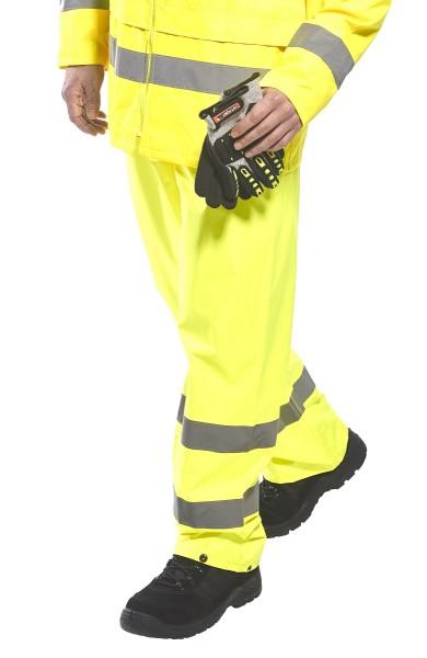 Wasserabweisende Warnschutzhose Bundhose PW-H441