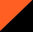 floureszierend orange/schwarz
