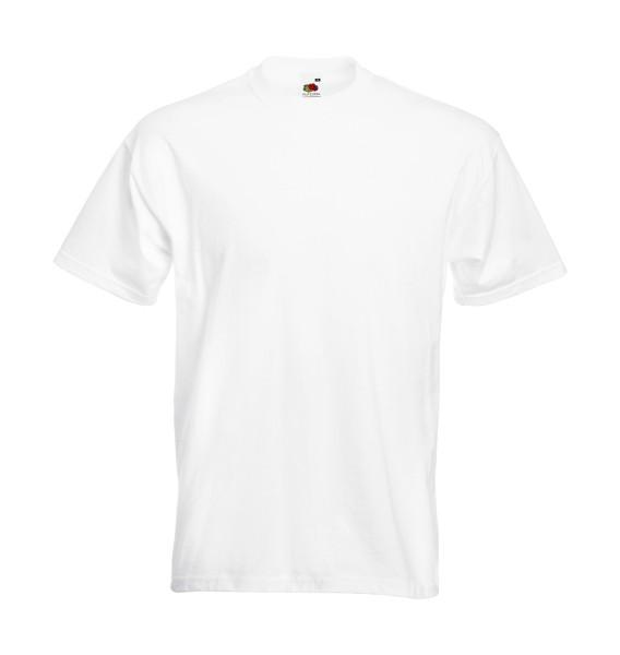 weißes T-Shirt für die Arbeit