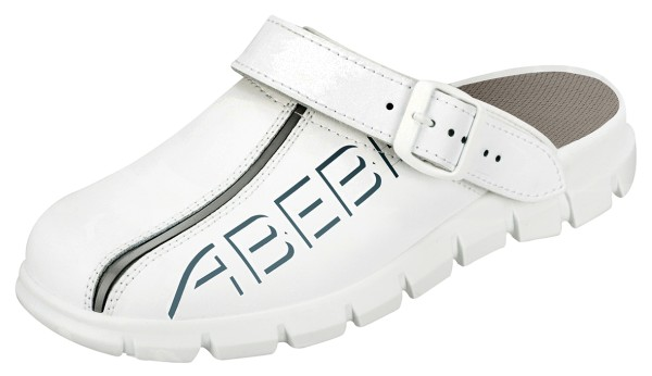 Abeba 7310 Clog weiß