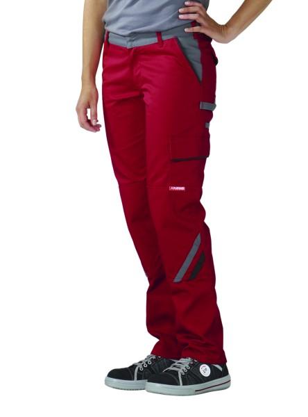 rote Arbeitshose für Frauen