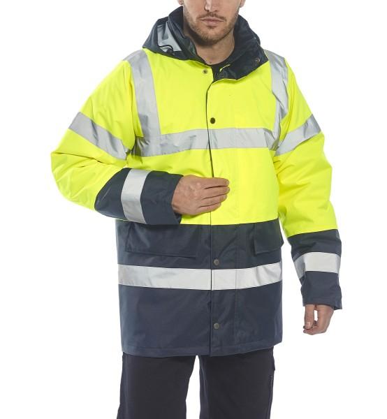 Warnschutz-Jacke mit Kontrast Portwest S466