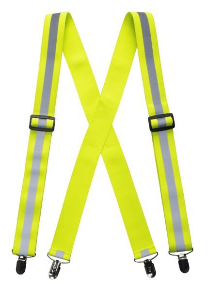 Warnschutz Hosenträger Portwest HV56 gelb floureszierend Leuchtfarben