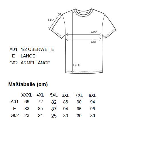 Groessentabelle-t-shirt-uebergroesse