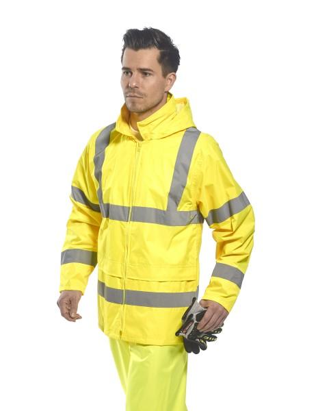 Regenjacke-Warnschutz_Portwest-H440_gelb
