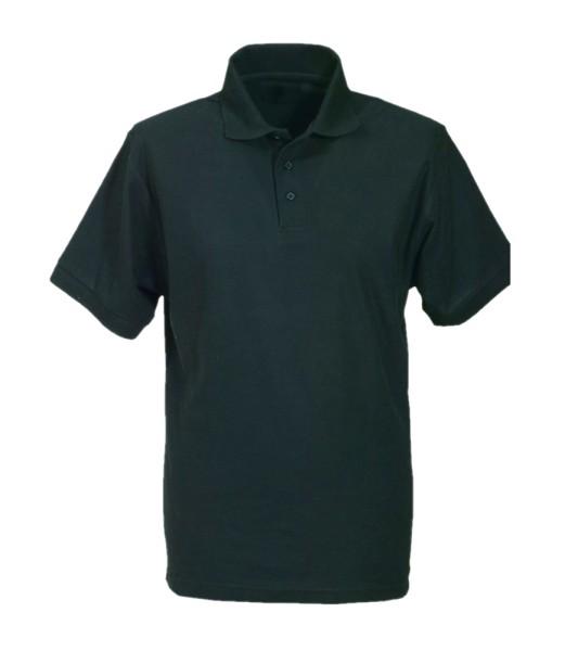Arbeitsshirt Poloshirt 60 Grad Piqué waschbar schwarz